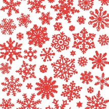 Sır Altı Dekal Snow Flake...