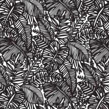 Sır Altı Dekal Jungle Leaf...