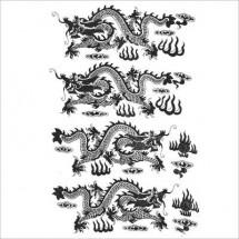Sır Altı Dekal Dragon...