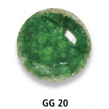 GG 20 Grasgrün Cam Granül...