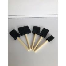 5 Parça Sünger Fırça Seti