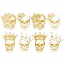 Sır Üstü Dekal Skull King &...