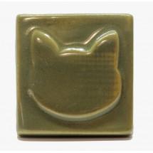 1005 - Olive Cat Seramik...
