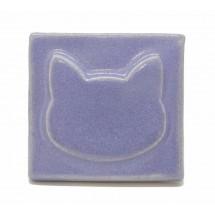 1009 - Lavender Cat Seramik...